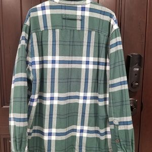 Duluth Trading Co Shirts - Duluth Trading Men's Lined Flannel Snap Shirt sz L